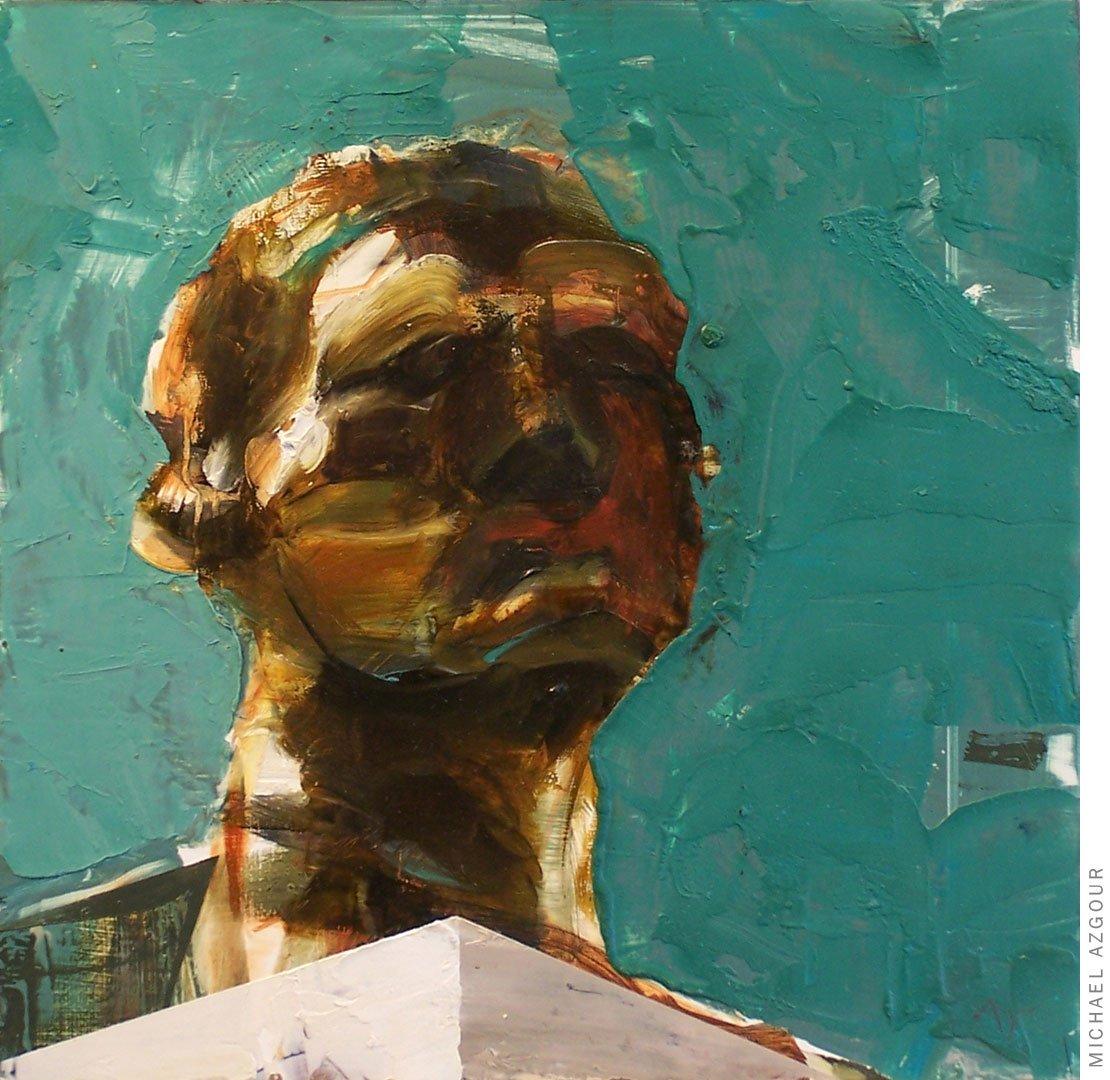 Rodin Study: Head of Pierre de Wissant, Burgher of Calais 1