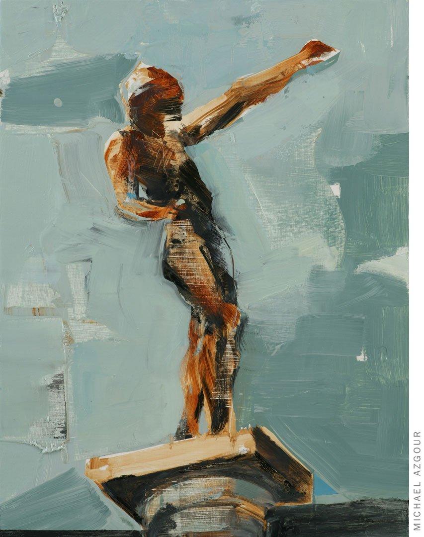 Rodin Study: Spirit of Eternal Repose 2