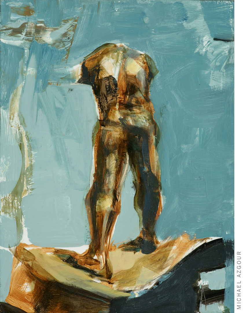 Rodin Study: Walking Man 1