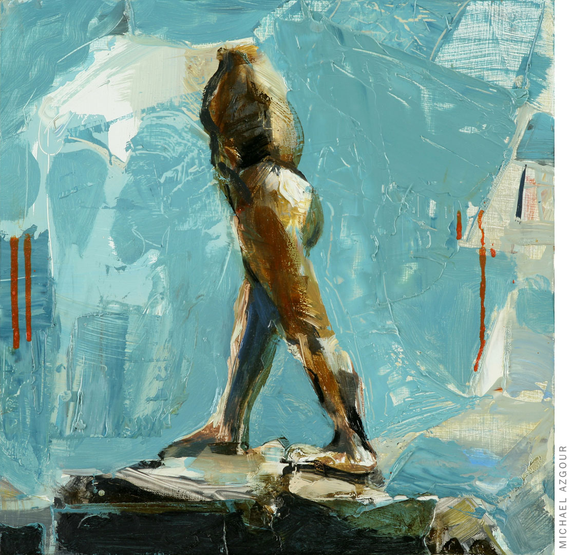 Rodin Study: Walking Man 2