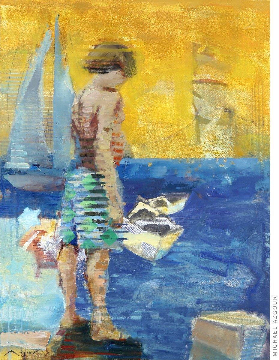 Boy at the Marina
