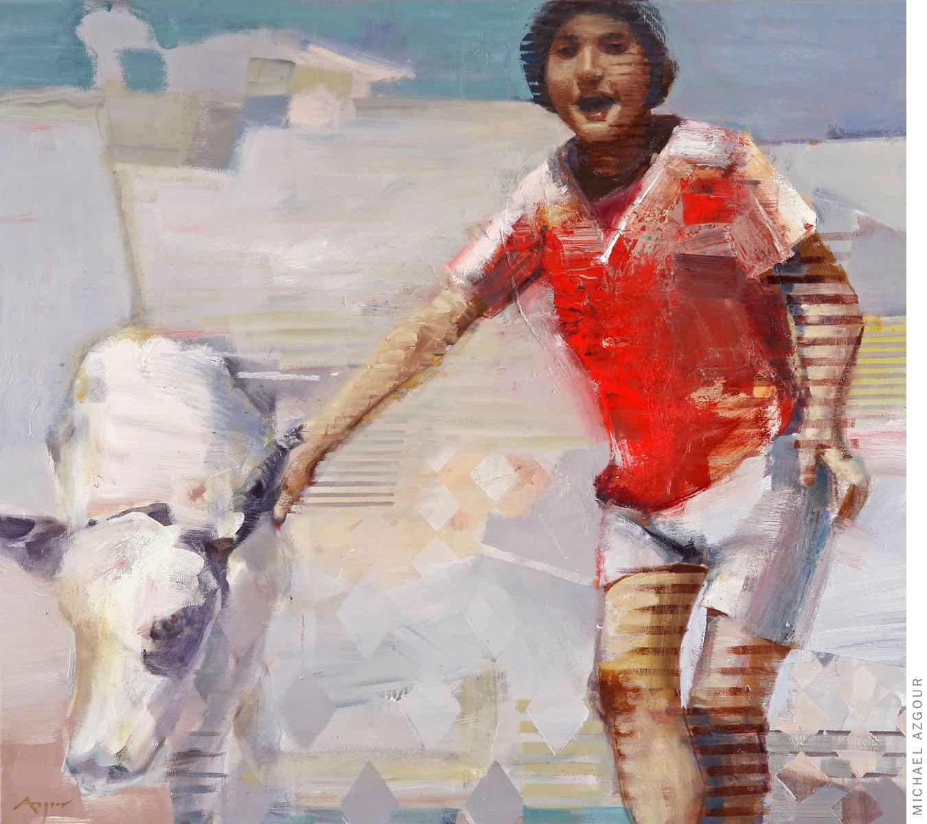 Maya and the Calf