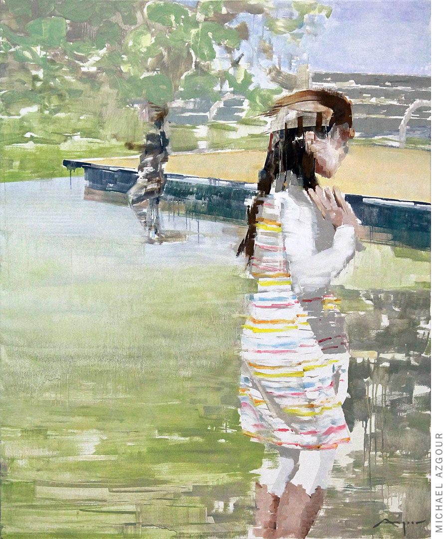 Krakow: Girl in the Park