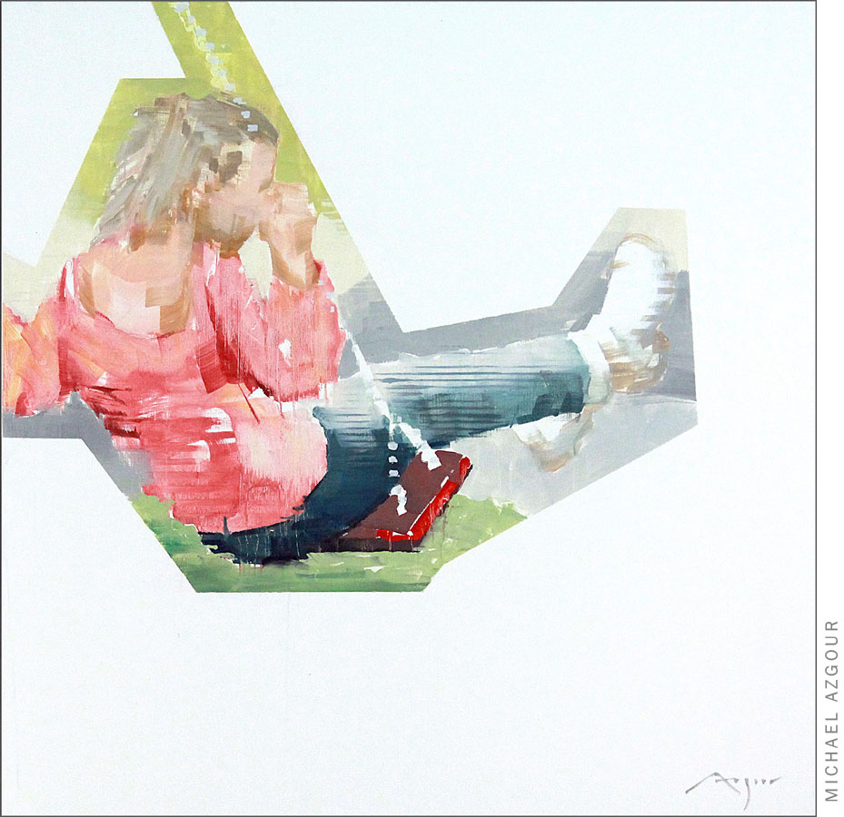 Paris: Girl Swinging