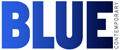 Blue Contemporary Logo