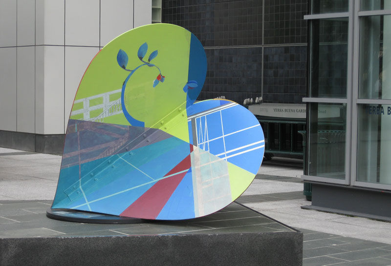One Heart's Design by Michael Azgour, Yerba Buena Center for the Arts