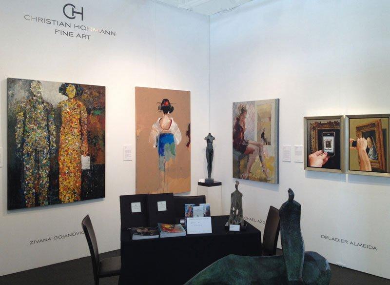 Michael Azgour at Art Market San Francisco