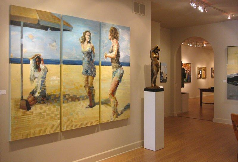 Michael Azgour at Hohmann Fine Art