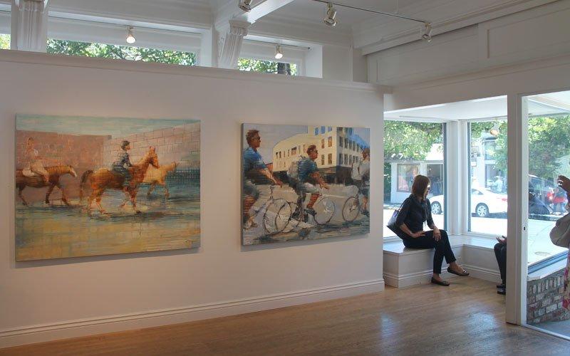 Michael Azgour at Robert Green Fine Arts