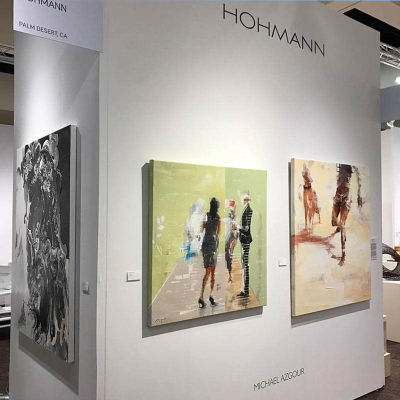 Michael Azgour at Palm Springs Fine Art Fair