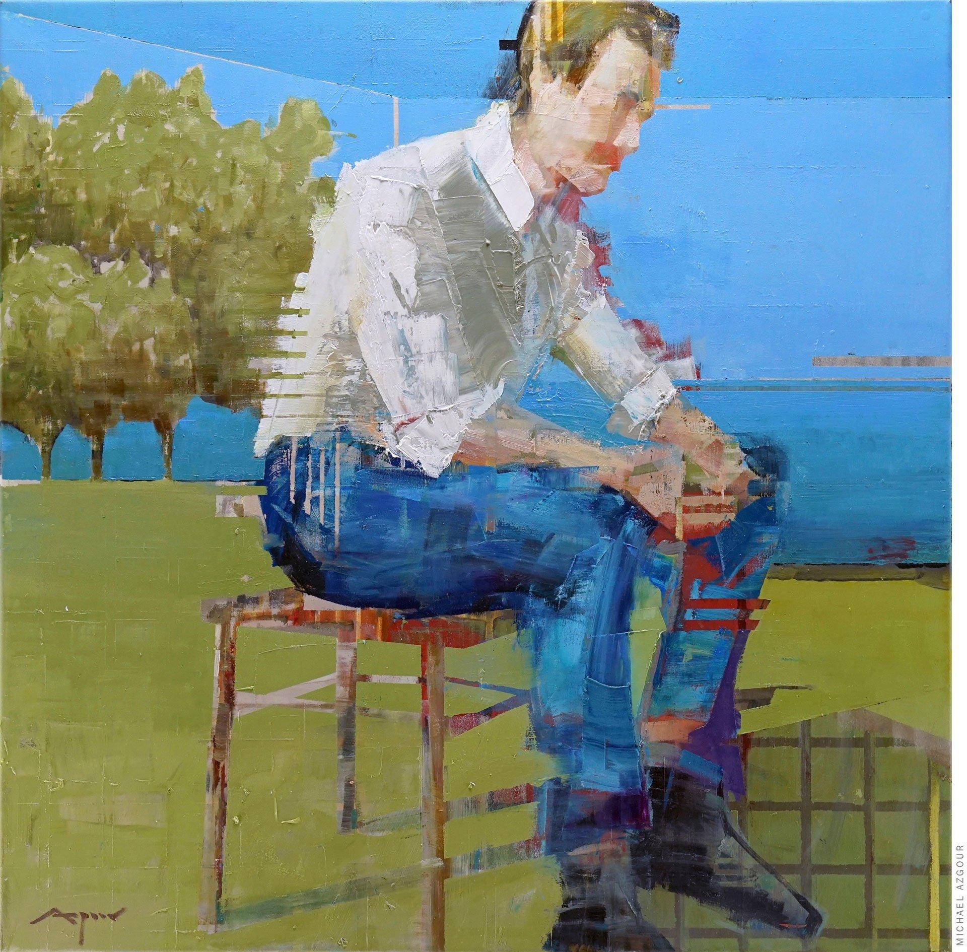 Integration: Man Seated
