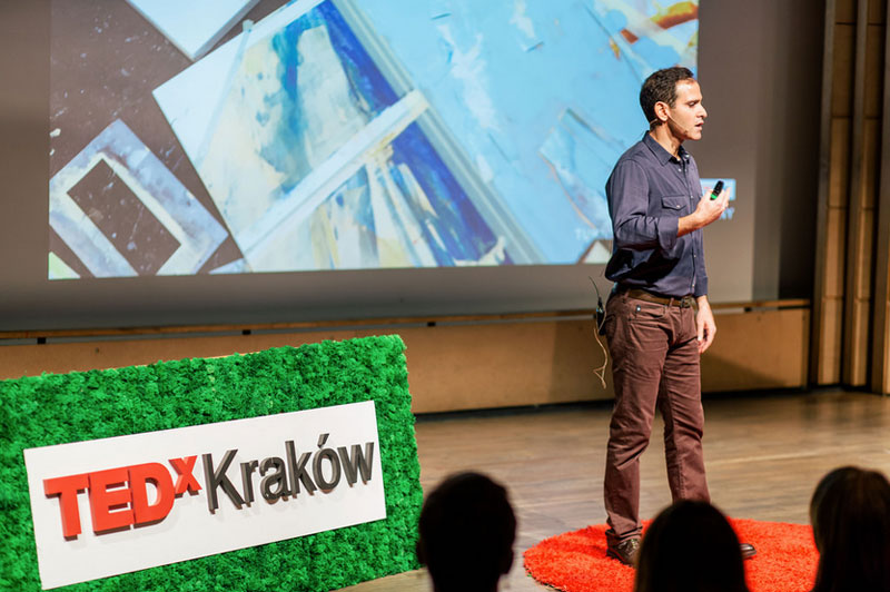 Michael Azgour at TEDx Krakow