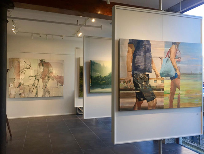 Michael Azgour exhibiting paintings at Claire Carino Contemporary, Boston, MA