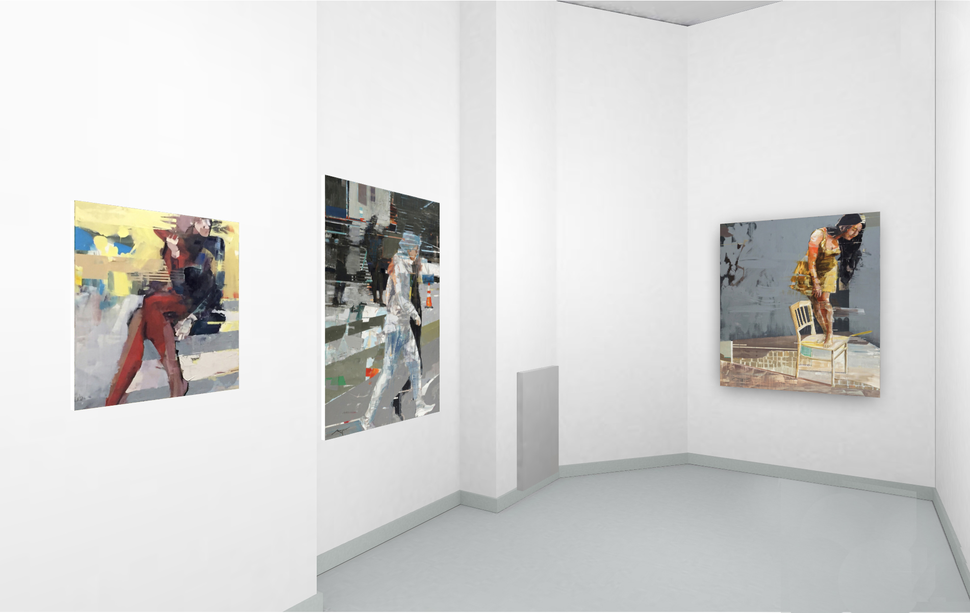 Sixpack Exhibition at Brennecke Fine Art, Berlin